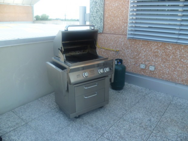 Il barbecue già pronto all'uso!