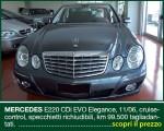 MERCEDES E220 CDi EVO Elegance